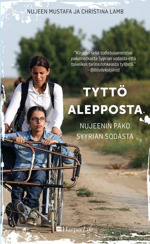 Tyttö Alepposta – Nujeenin pako Syyrian sodasta book image